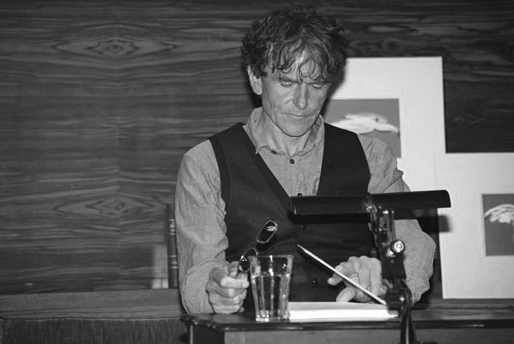 Torsten Schlüter, Lesung im Gerhart Hauptmann Haus, Hiddensee, 2013