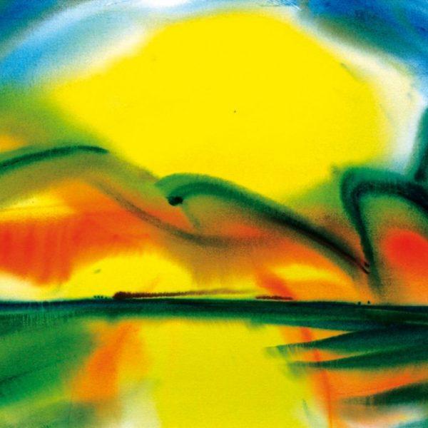"""Torsten Schlüter, """"Fortissimo"""", 2008, Aquarell, 50x65cm"""