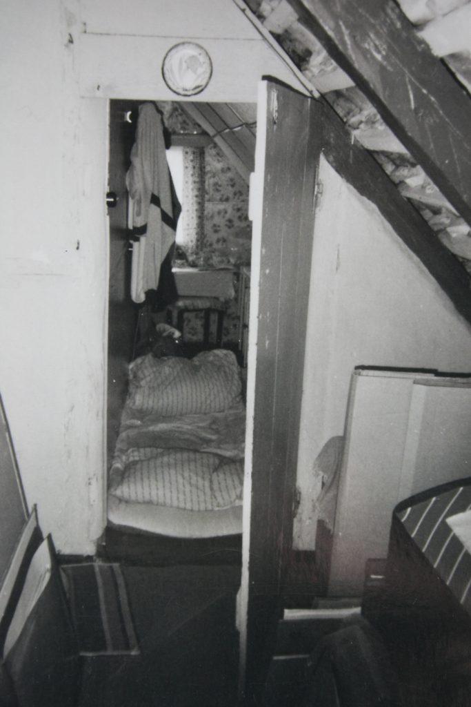 Torsten Schlüters altes Zimmer auf Hiddensee in den Achtzigern