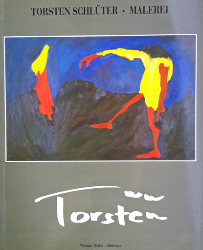 """Torsten Schlüter, """"Malerei- Hexen und Hexen"""", 1992"""