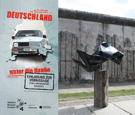 """Torsten Schlüter, """"Geminus"""", Internationles Künstlerprojekt """"Deutschland unter die Haube"""", 2014-2020"""