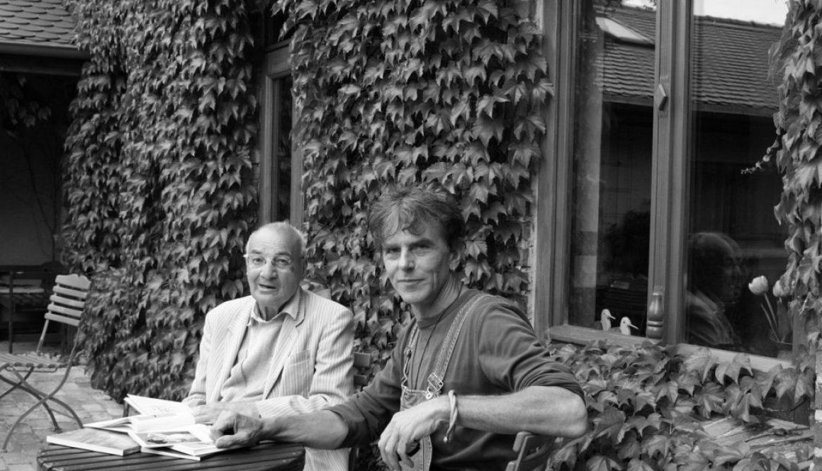 Die Maler Peter Spiro und Torsten Schlüter im Gespräch, Kloster, 2009