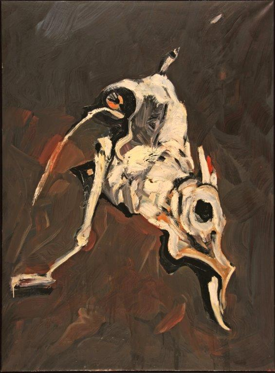 Scelett Coast, 1998, Öl auf Leinwand, 175x125 cm