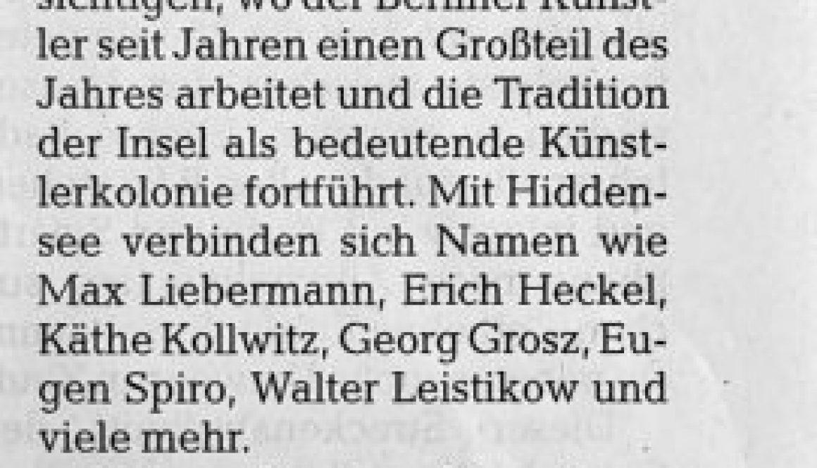 Ostseezeitung 2020